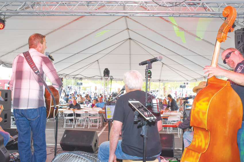 The Home Brood Band, a country rock group from Littleton, entertains at this year's Northglenn Food Truck Carnival May 11 at the Northglenn Community Center.