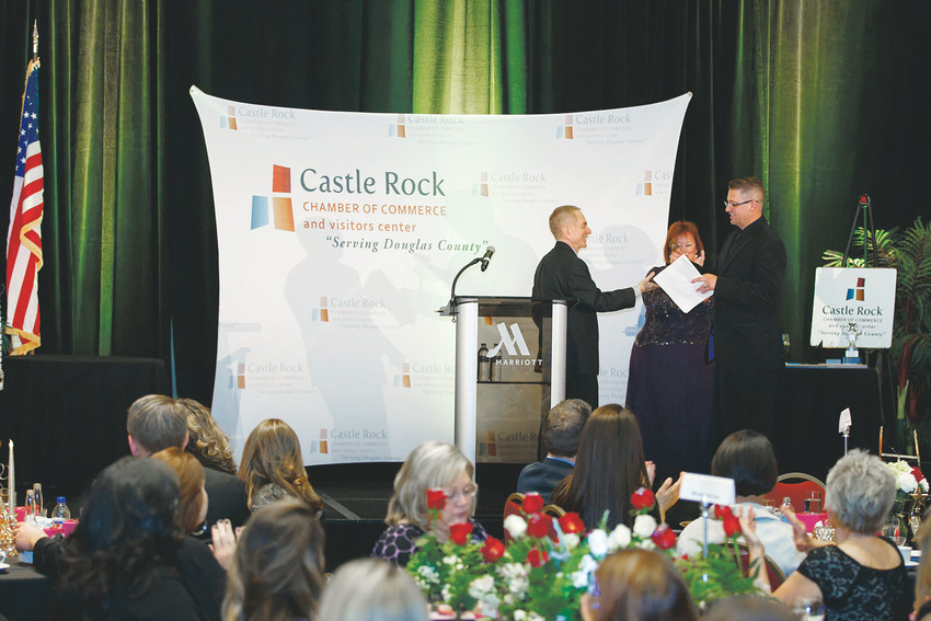 Mark Michael was named chairman of the Castle Rock Chamber of Commerce.