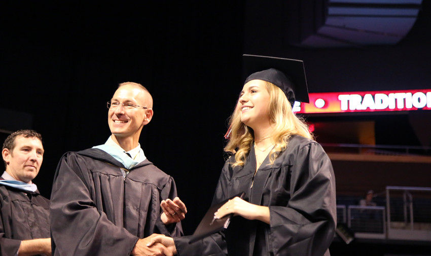 More than 250 seniors graduated from Pomona High School May 17 at the 1st Bank Center.