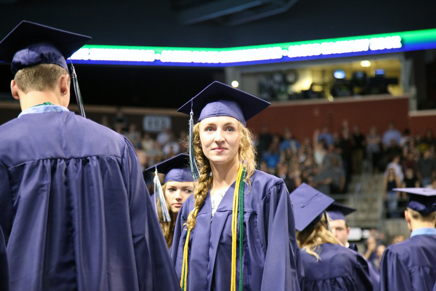 Savannah Martin was one of 246 seniors to graduate from Standley Lake High School May 17 at the 1st Bank Center.