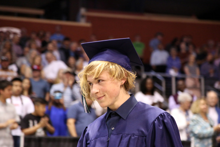 Maxwell Belk was one of 246 seniors to graduate from Standley Lake High May 17.