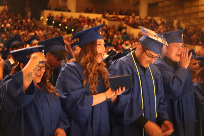 Alameda International High School seniors turn their tassels and go from high school students to graduates following their graduation on May 22.