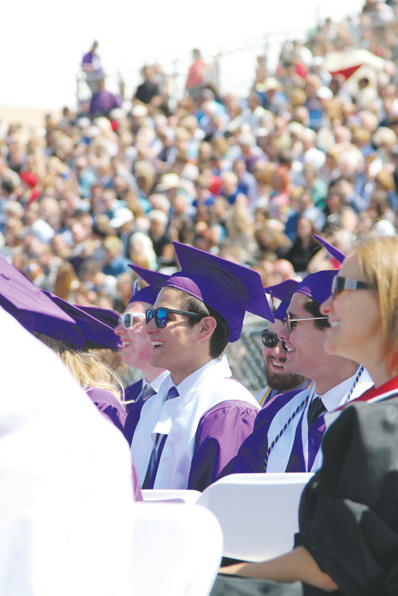 Douglas County High School held its 2018 graduation ceremony at the school stadium on May 22.