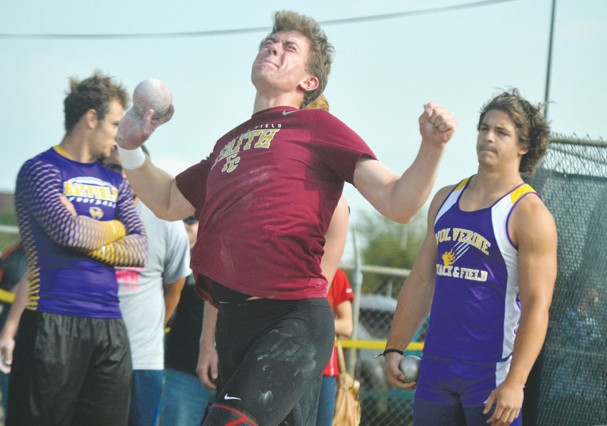 Faith Christian senior Reece Davidson finds
