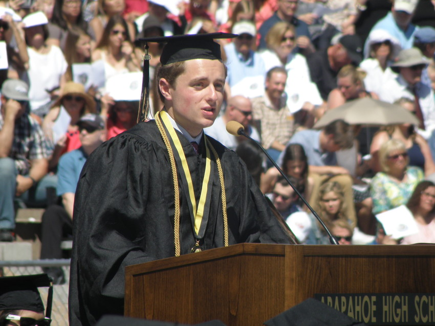Keynote speaker Kirk Zieser said graduating is like upgrading your personal operating system.
