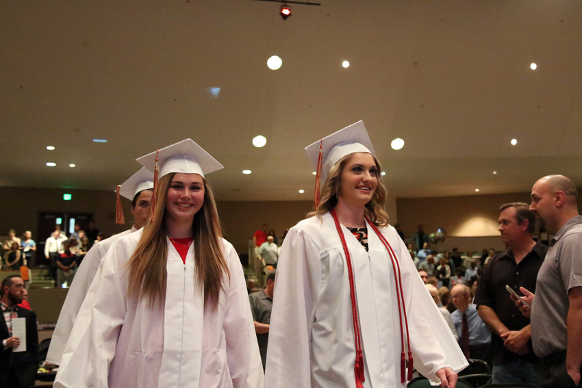 One hundred and eight seniors graduated from Faith Christian High May 24.