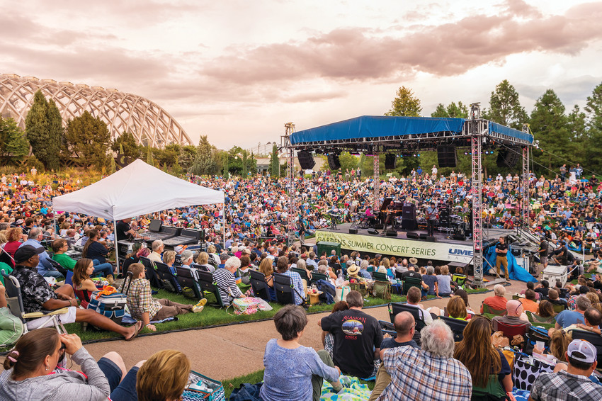 The Denver Botanic Garden's annual summer concert series is back this year, and is open to all ages. Artists like The Milk Carton Kids and Chris Botti will be performing this year.