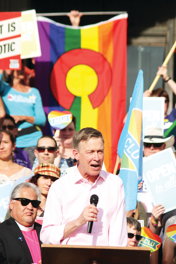 Colorado Gov. John Hickenlooper said that the Supreme Court's ruling does not deny anyone equal access to public accommodation in the state.