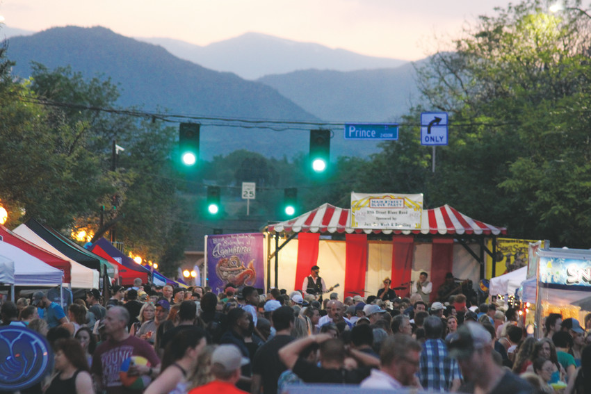 It ain't really summer in Littleton until the Main Street Block Party. Thousands thronged downtown Littleton on June 9 to watch live bands and acrobats, chow down on grub from Littleton's best restaurants, and carouse in the perfect evening air.