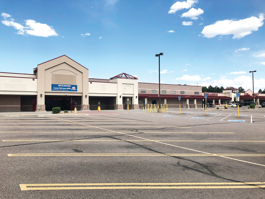 A former King Soopers location in Castle Rock has stood vacant for more than a year, causing a decrease in sales at the shopping center and decreasing traffic in the area.