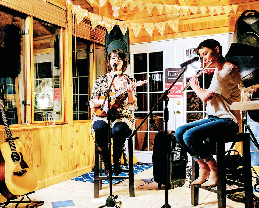 House shows are simple, low-impact concerts that are hosted in spaces - either indoor or outdoor - where musicians can perform. That can even be a kitchen area.