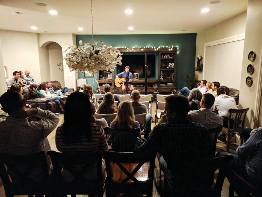 Hosting house shows are a growing trend for musicians - both local and touring - who are looking for a place to play that offers the opportunity to connect with audiences.