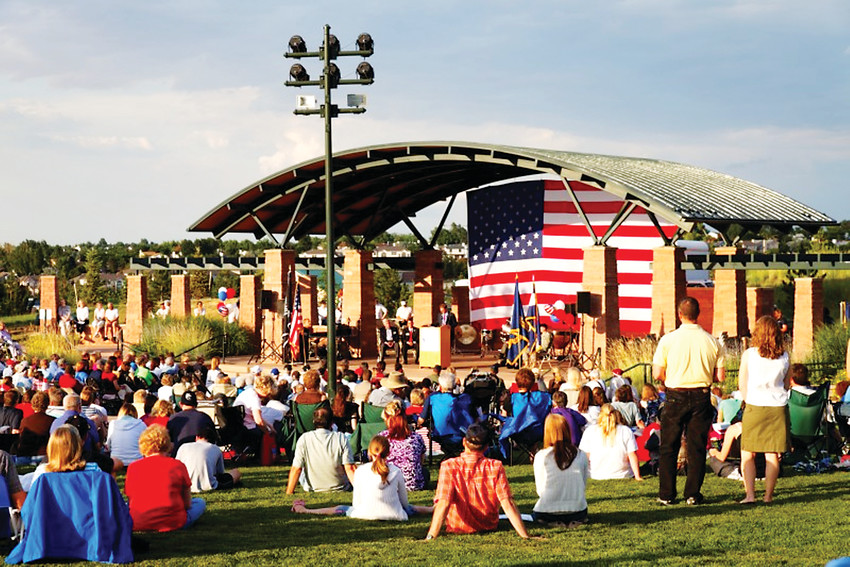 The bandshell in Civic Green Park, on Ridgeline Boulevard in Highlands Ranch, will be the focus at the Summer Music and Arts Festival, with 15 musical groups performing June 23-24 at Civic Green Park in Highlands Ranch. It is organized by the Highlands Ranch Concert Band.