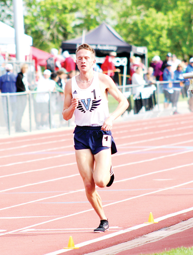 Cole Sprout, of Valor Christian, is the Colorado Community Media South Metro Boys Track Athlete of the Year.