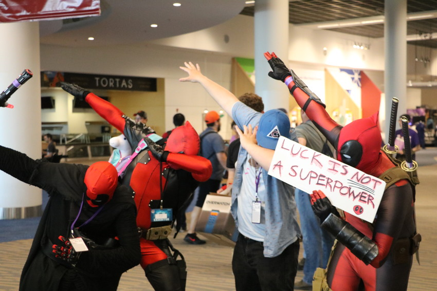 "A group off Deadpool's is called a ""dab."""