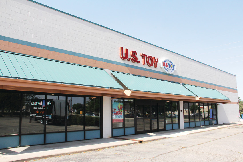 The former U.S. Toy building at 8101 S. Quebec St. at East Otero Avenue in Centennial, June 12. A developer plans to remodel the building for an Alfalfa's Market store, a move the city has acted to incentivize.