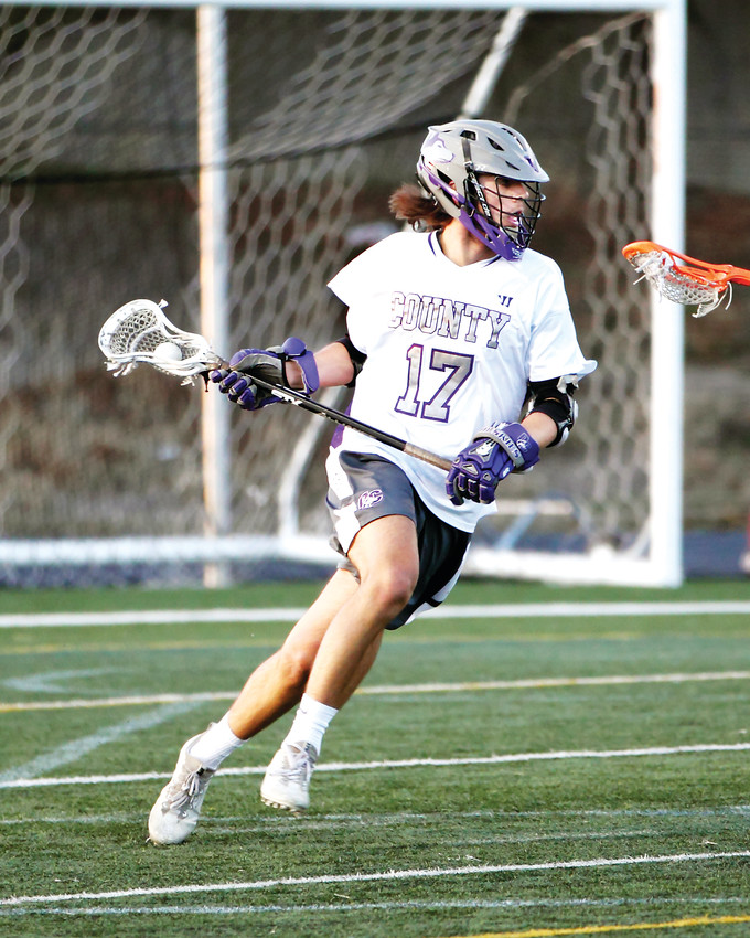 Douglas County's Jake Heintzelman is the Colorado Community Media South Metro Boys Lacrosse Player of the Year.