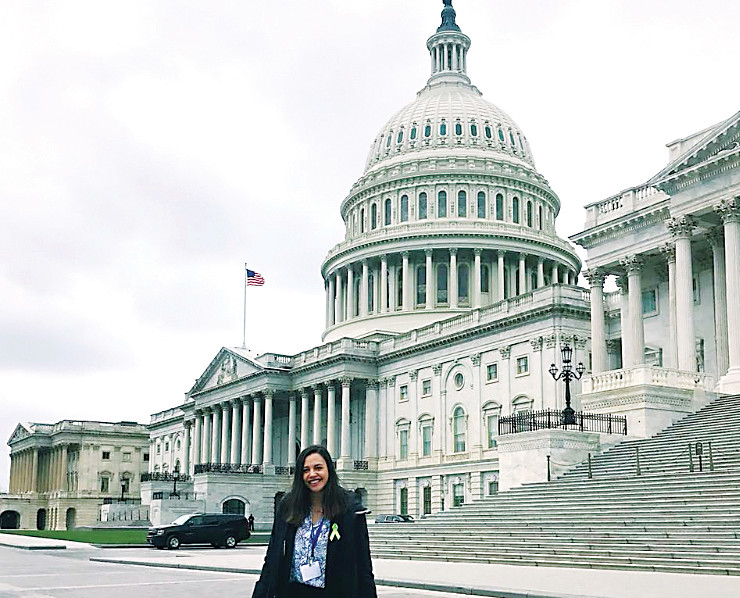 Kristen Torres, a graduate of Chaparral High School, traveled to Washington D.C. to ask for support from Colorado senators and representatives on mental health bills. Torres' own experience with mental illness has led her to become an advocate for mental health.