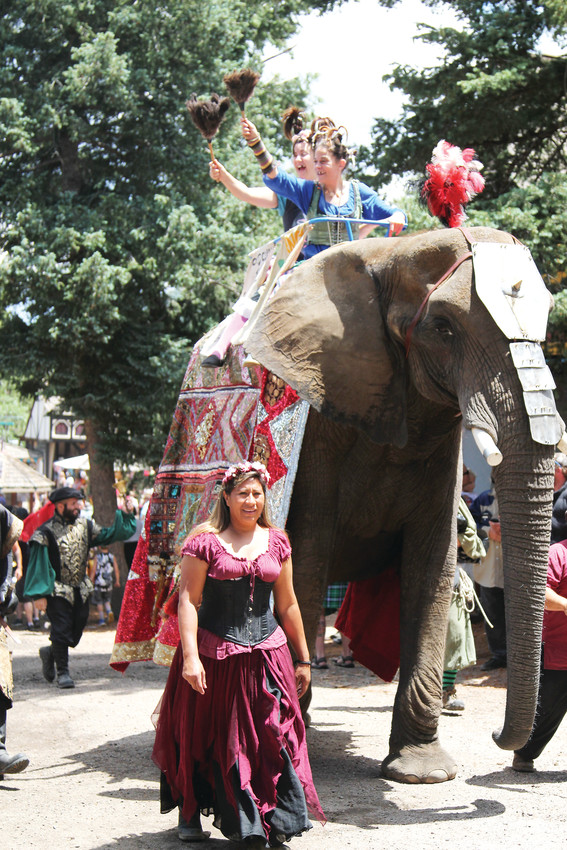 Parades made their way through the grounds during the Renaissance Festival on June 23.
