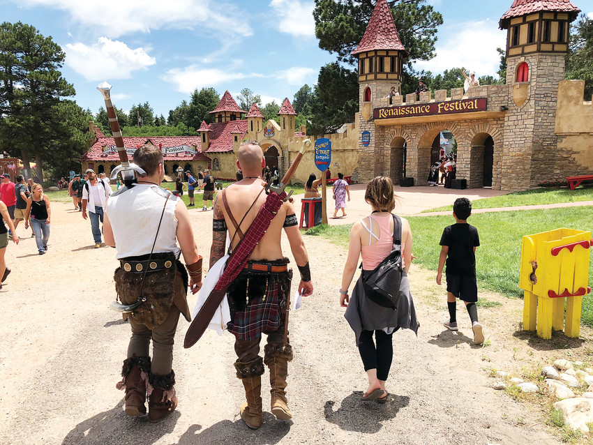 The Renaissance Festival opened its doors for the second weekend this summer. The festival runs on Saturdays and Sundays through early August in Larkspur.