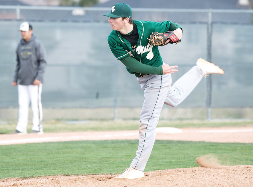 Mountain Vista junior Sam Ireland is the Colorado Community Media South Metro Pitcher and Player of the Year