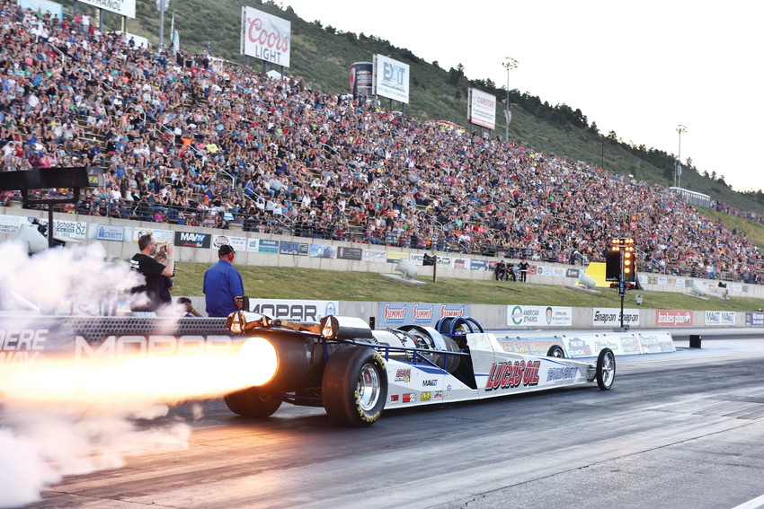 Bandimere Speedway's annual Jet Car Nationals and Family Festival not only provides visitors an evening of fireworks but they also get to see some top-notch driving.