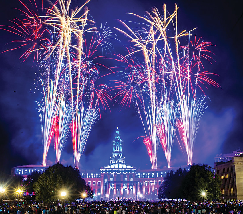 Since 2010, Denver's Civic Center Conservancy firework show has been one of the top July 4 events in the metro area.