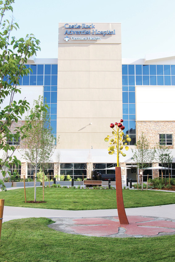 Castle Rock Adventist Hospital held the official grand opening of its Healing Garden in June. The amenity is located between the hospital's Briscoe and Alexander buildings.