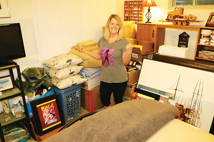 Littleton resident Kathy Powers started a chapter of the Buy Nothing Project to bring her neighborhood together — and to help get rid of the clutter that piled up after she helped relatives clean out their homes.