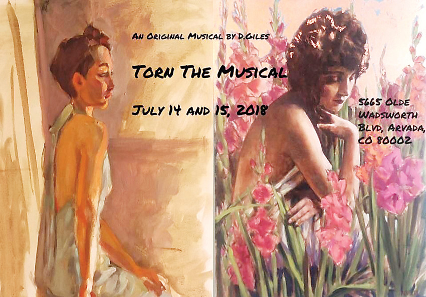 """Torn"" runs July 14 and 15 in Olde Town Arvada."