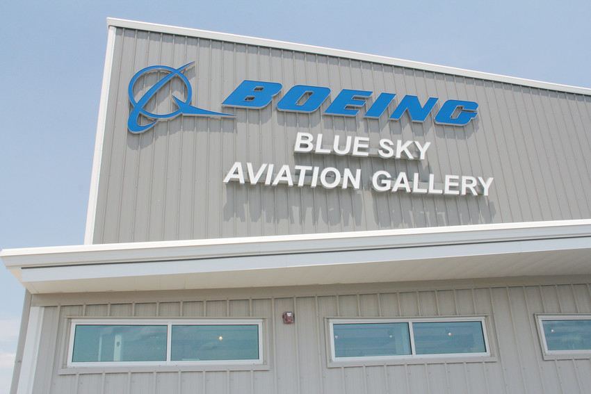 The outside of Boeing Blue Sky Aviation Gallery July 5. The facility will be the first phase to open of the Exploration of Flight campus — a project of the nonprofit Wings Over the Rockies — at Centennial Airport.