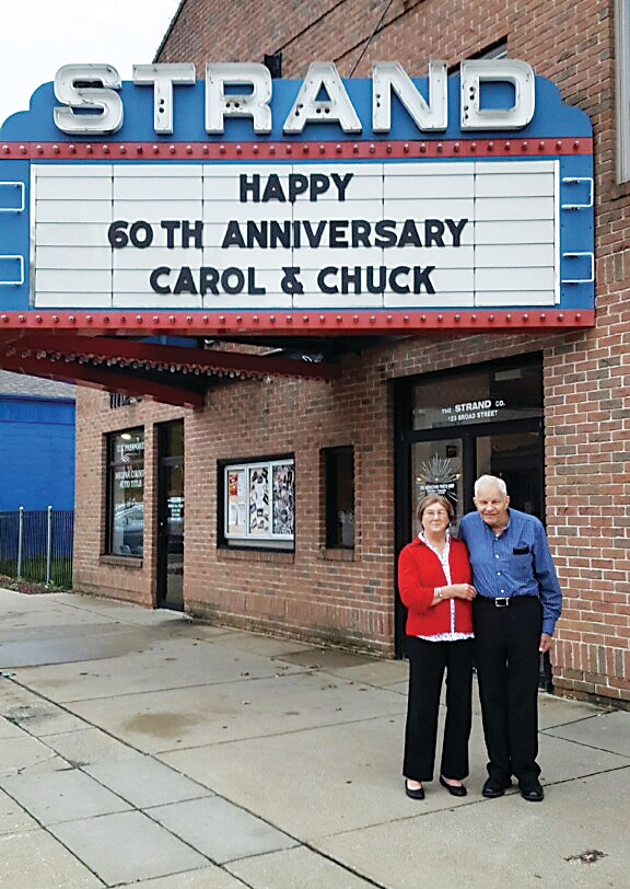 Chuck and Carol Baroch celebrate their 60th wedding anniversary in 2016 in Ohio. The two former Golden residents were active in the Golden community for the 24 years they lived locally and moved to Ohio in 2014 to be closer to family.