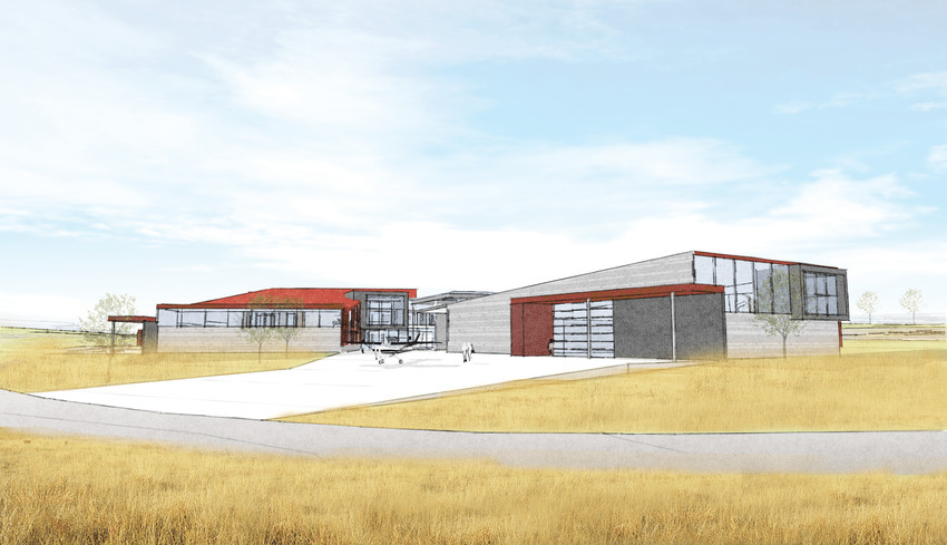 A rendering of the upcoming Cherry Creek Innovation Campus at 8000 S. Chambers Road.