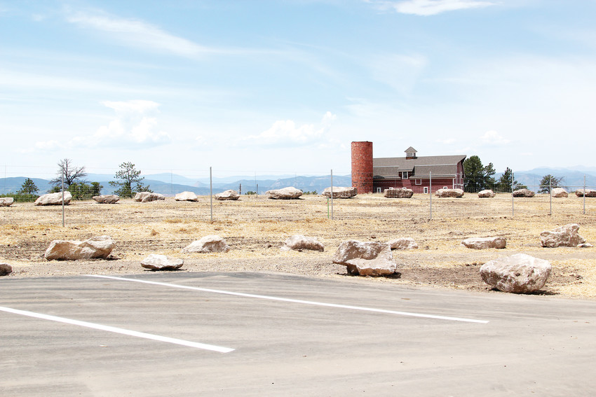 As part of the Daniels Park improvement project, roughly 50 parking spaces were added in several lots along the road.