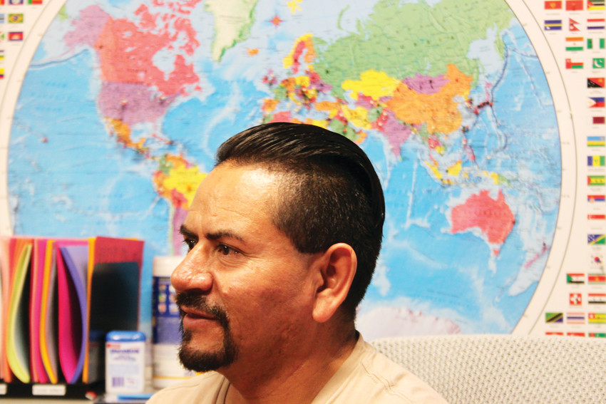 Jose Pimentel crossed the border illegally in 1998 and was able to gain legal residency in the United States after marrying a citizen. He is a full-fledged citizen today, thanks in part, he said, to the Immigrant Resource Center.