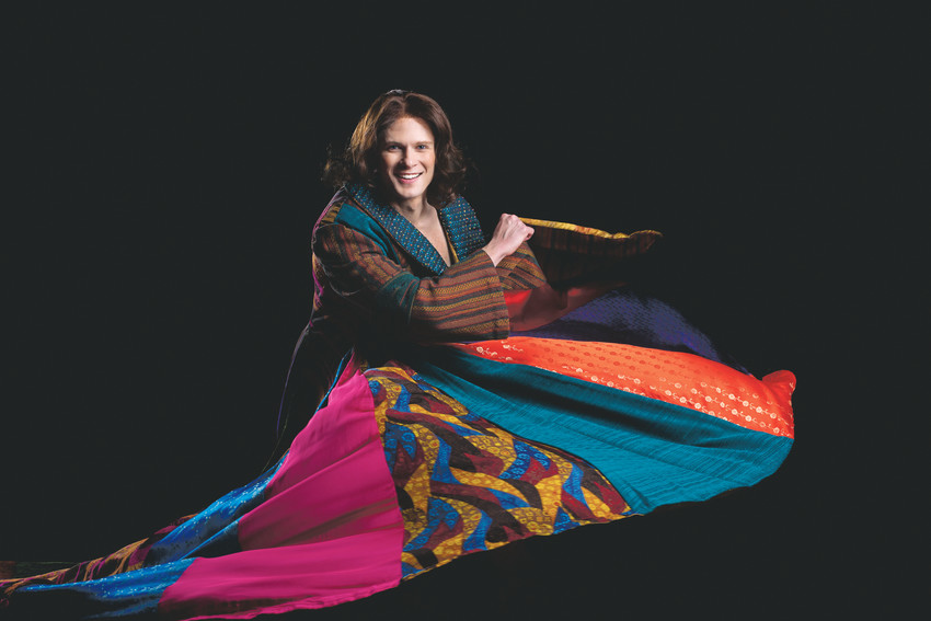 "The Arvada Center celebrated the holiday season with a classic family story, ""Joseph and the Amazing Technicolor Dreamcoat."" The play won awards for choreography and set design."