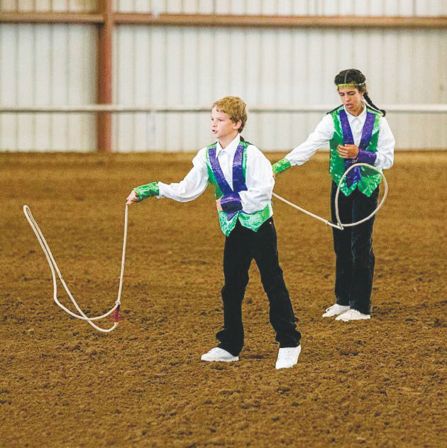 Lucas Cook, 11, performs rope tricks at the Westernaires' annual Western Heritage Show celebrating National Day of the Cowboy on July 25 at Fort Westernaire, located adjacent to the Jefferson County Fairgrounds in Golden.
