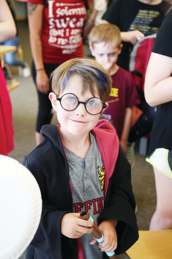 "Andrew Doll, 6, was one of many Arvada kids to come celebrate ""the boy who lived."""
