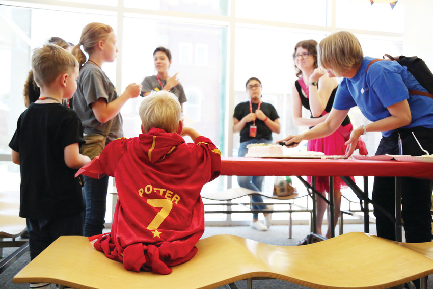 The Arvada Library was one of several Jeffco Libraries to celebrate the Harry Potter series with a party on July 31.