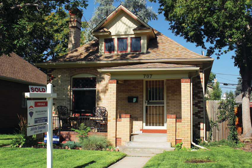 Houses in south Denver do not stay on the market for very long. This home off of South Clarkson Street was listed for $525,000.