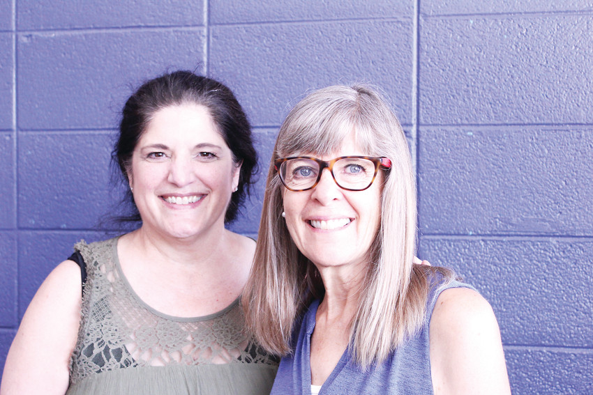 Rock Solid Christian Academy principal Rhonda Elliott, left, and assistant principal Cecilia Gibbs, right. The school was founded in 1996 and uses a University Model to help prepare students for higher education.