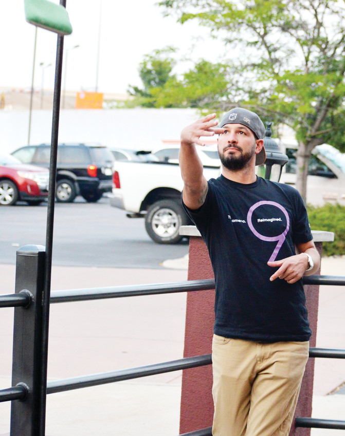 Keilan Wilbanks is an avid cornhole player who has become very proficient at the sport. He organizes a casual tournament each Wednesday evening at Reeds Southside Tavern in Lone Tree.
