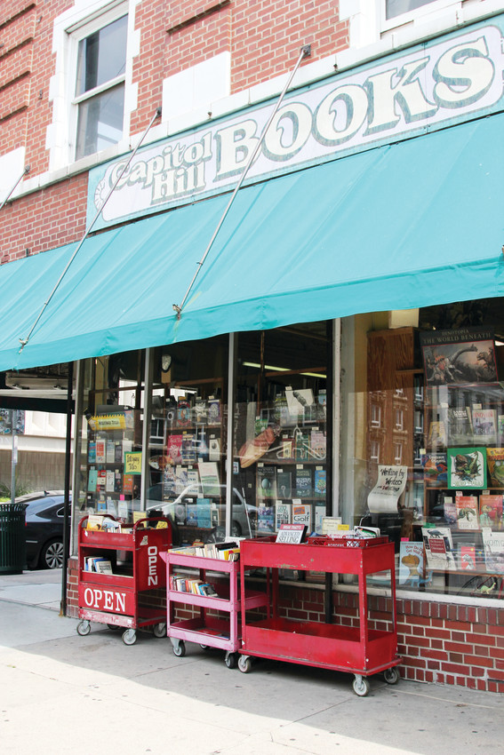 Capitol Hill Books is an independent, used bookstore that offers many books no longer in print.