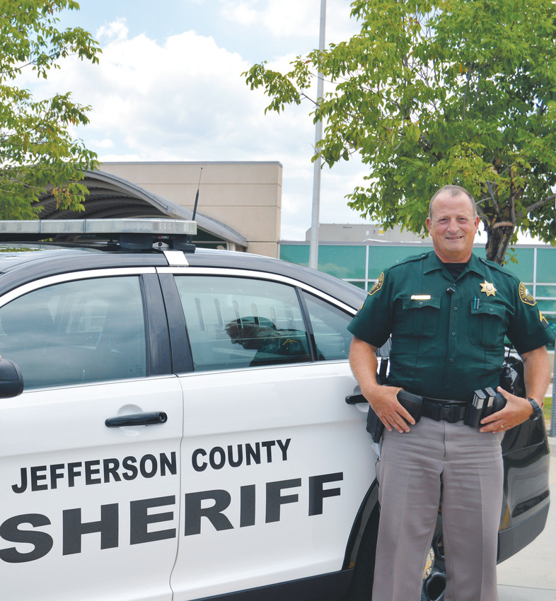 Deputy Tim Williams is one of the 14 school resource officers deployed by the Jefferson County Sheriff's Office. Williams is currently an SRO at Columbine High School.
