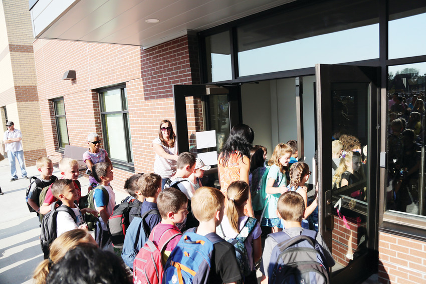 Sierra Elementary School welcomed 460 kindergarten through fifth-grade students for the new school year Aug. 16.
