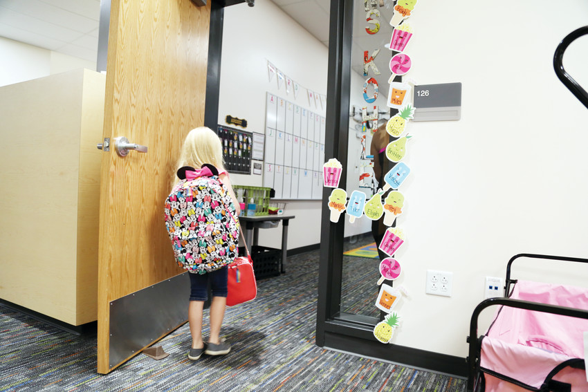 The 50,000-square-foot addition increased the school capacity by 250 students and brought improved technology and comfort for students and staff.
