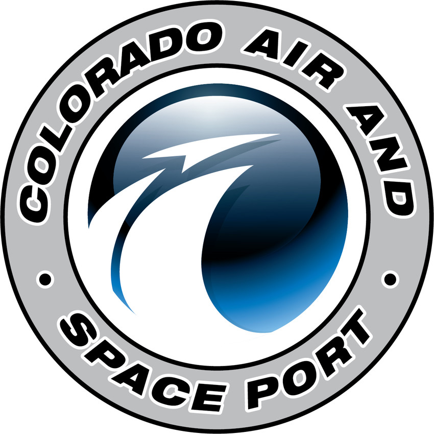 The logo for the Colorado Air and Spaceport
