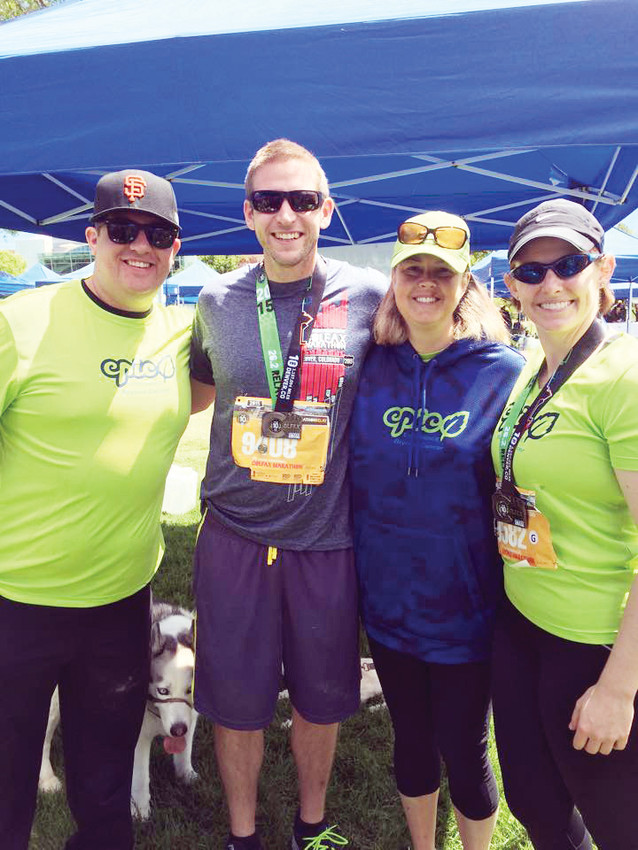 Past Epic campers reunited to run the Colfax Marathon.