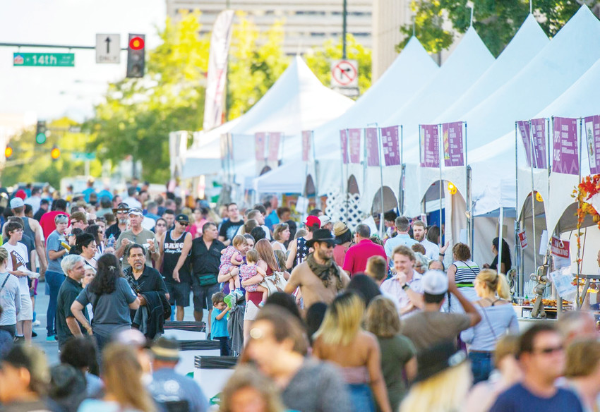 Hundreds of vendors from around the region will be on hand at this year's A Taste of Colorado.