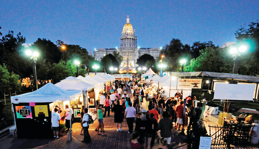 This year's A Taste of Colorado will be the biggest ever, organizers say.
